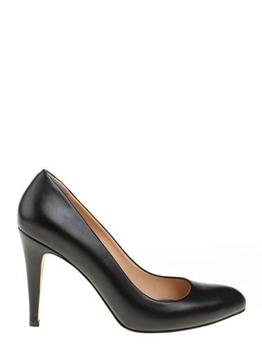 D by Divarese %100 Deri Klasik Ayakkabı Siyah
